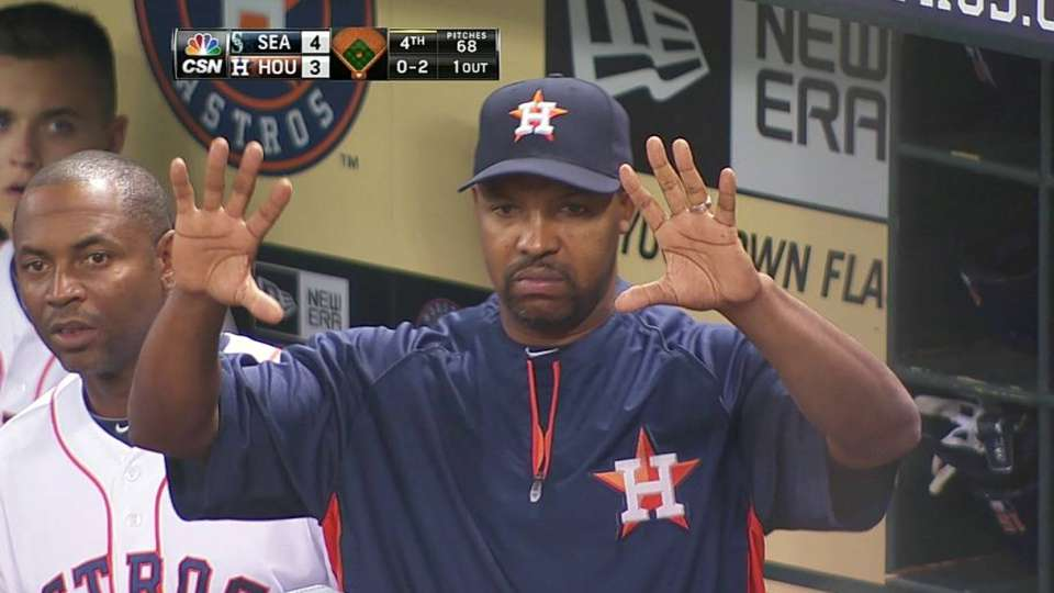 Astros win challenge in 4th