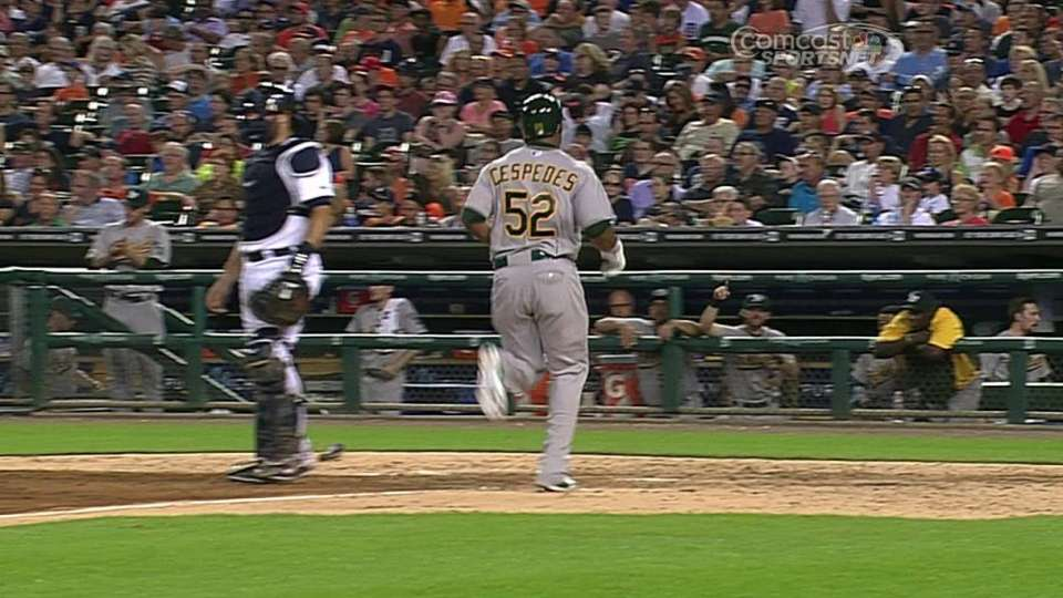 Moss' RBI double