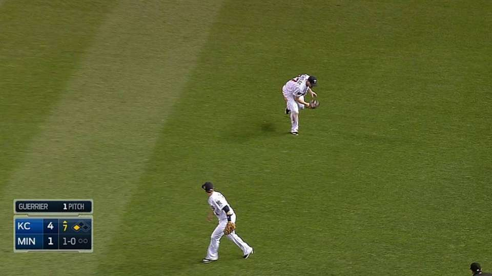 Parmelee's nice recovery