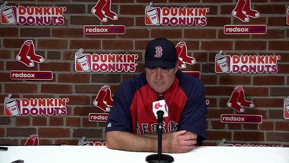 Farrell on pitching duel