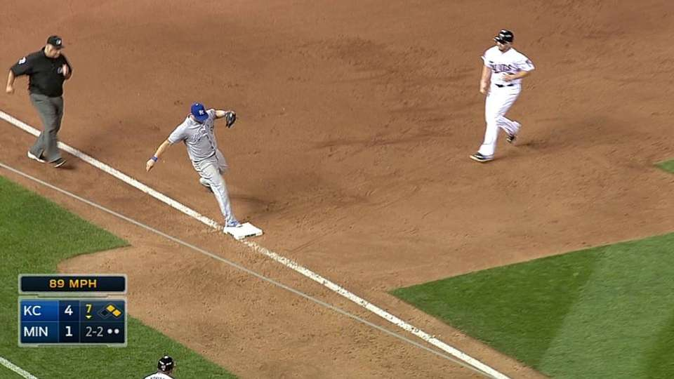 Moustakas' great play