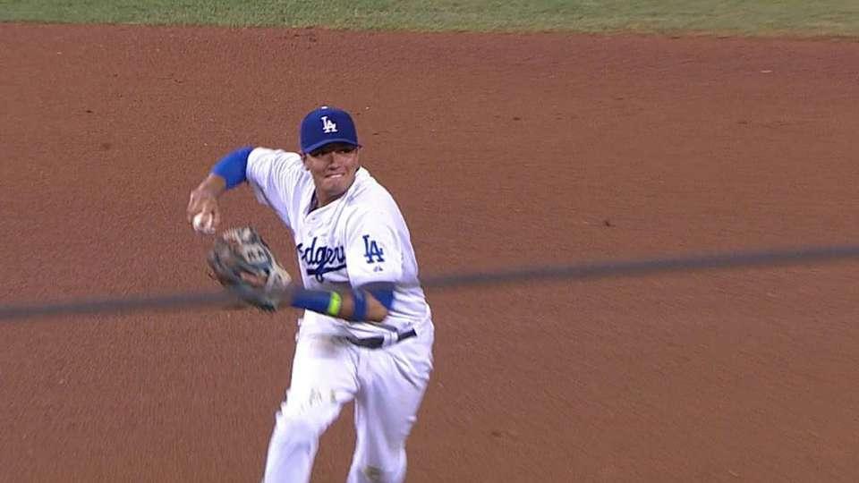 Rojas' nice defensive play