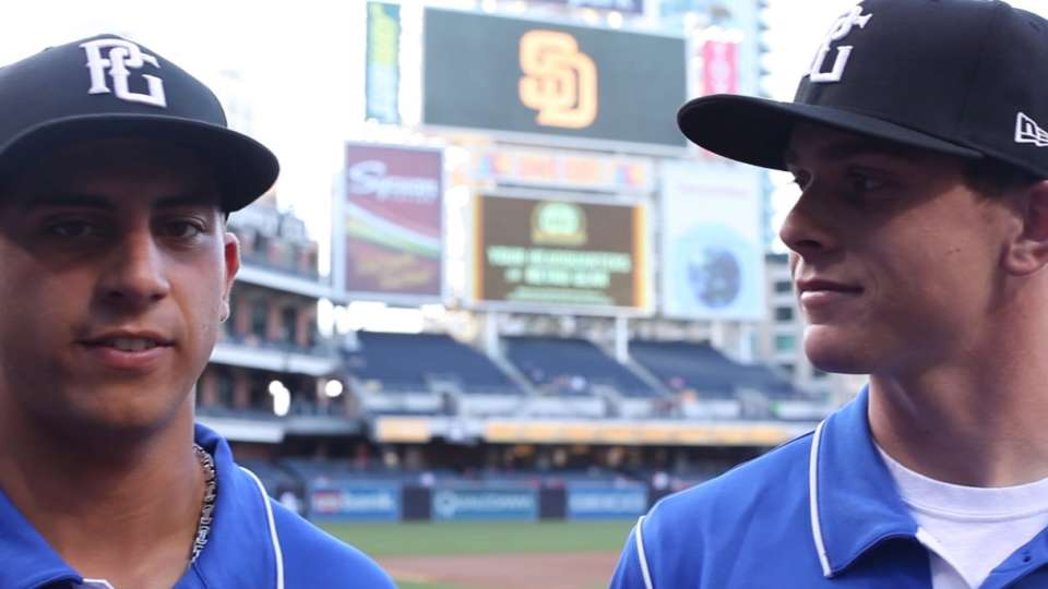 Two San Diegans in Perfect Game