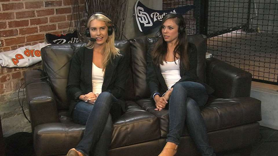 FSSD Girls on Padres Social Hour