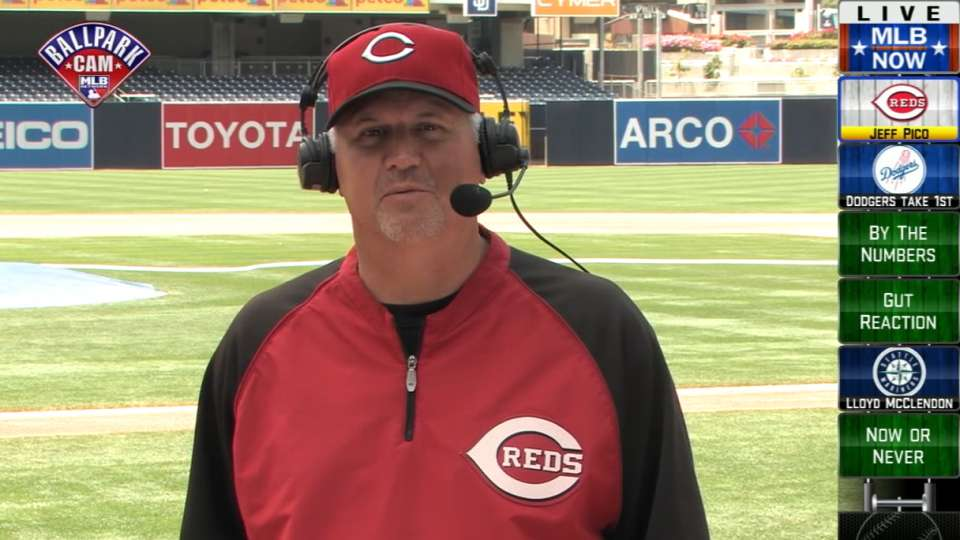 Jeff Pico talks Reds' pitchers
