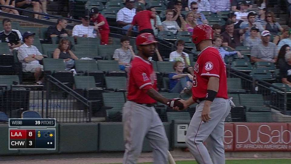 Aybar's productive forceout