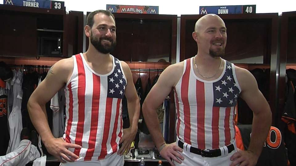 Marlins show pride for U.S. team