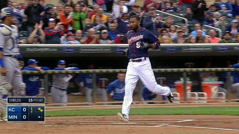 Parmelee's RBI double