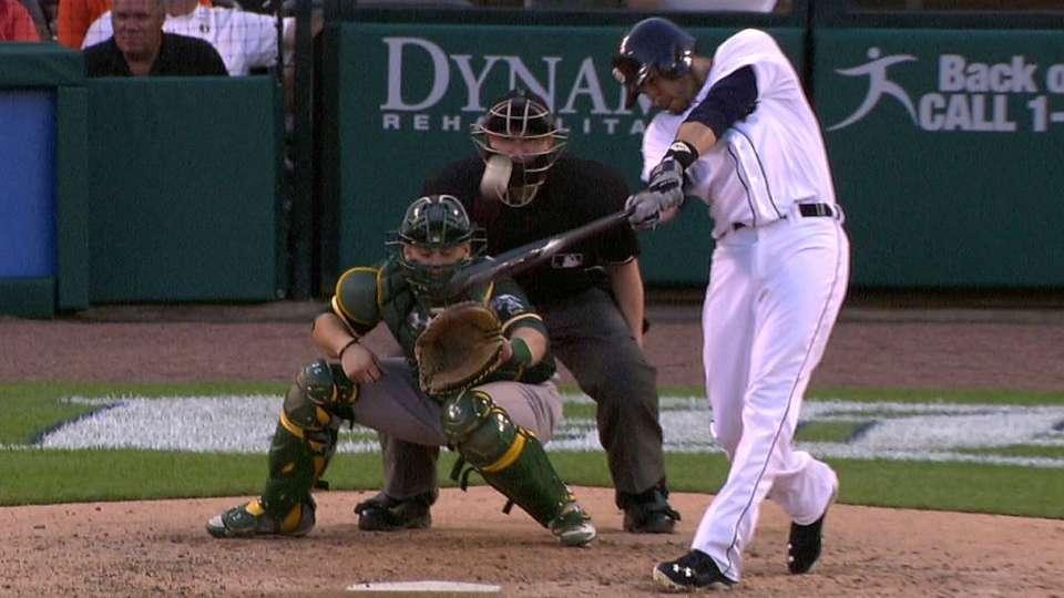 J.D. Martinez's two-run shot