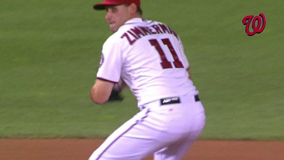 Zimmerman's nice defensive play