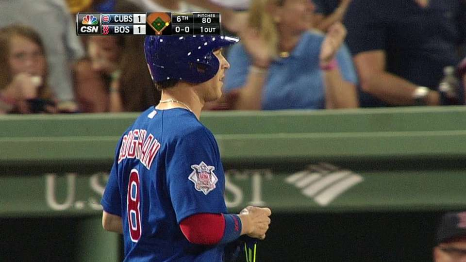 Coghlan's RBI forceout