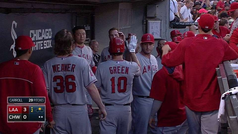 Green's productive groundout