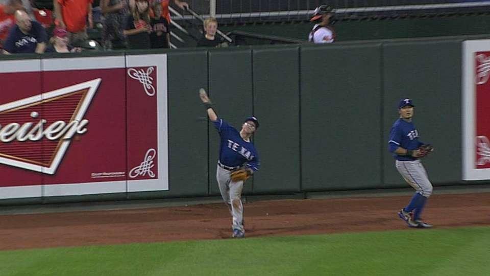 Robertson's running grab