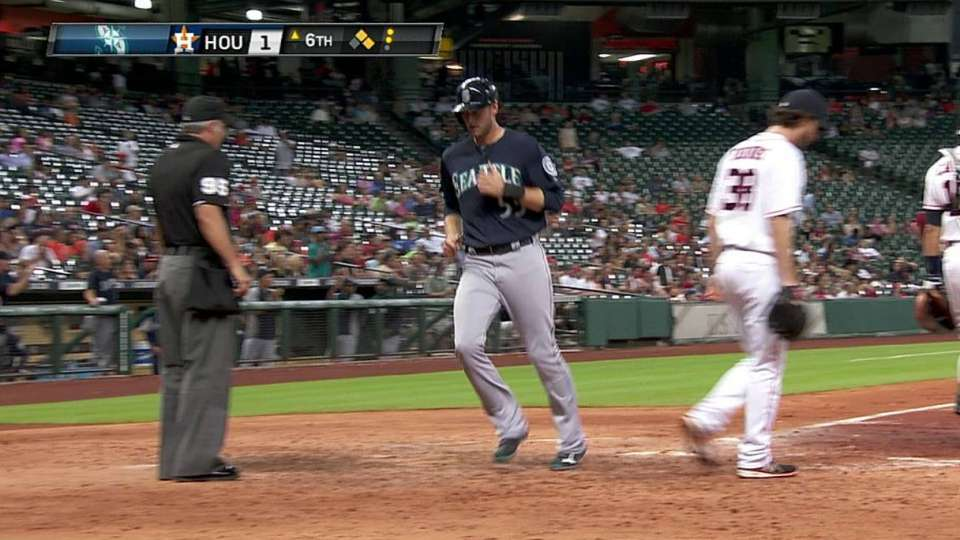 Ackley's RBI double