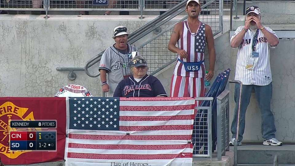 Petco Park hosts soccer fans