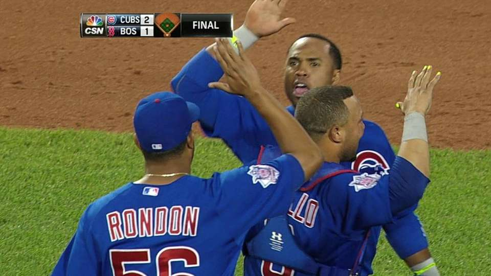 Rondon notches the save