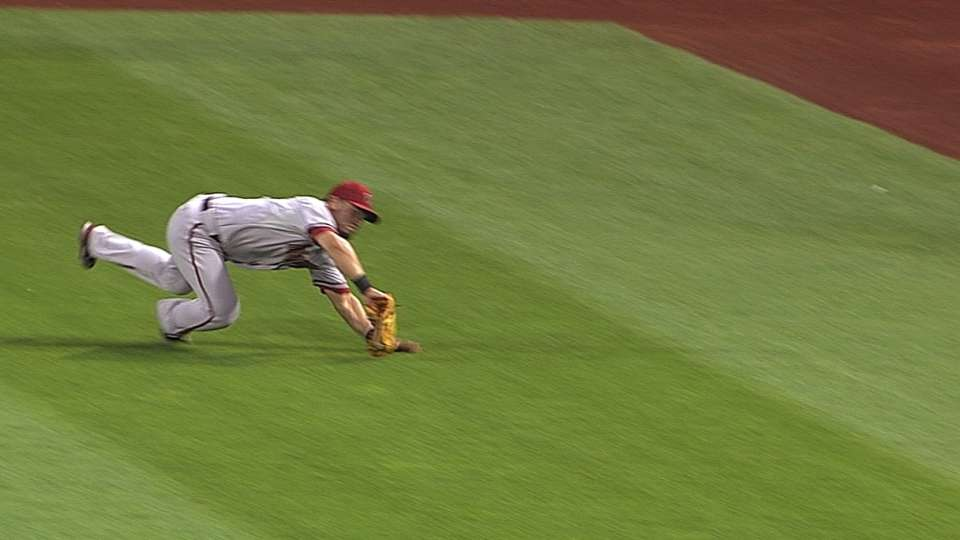D-backs flash the leather