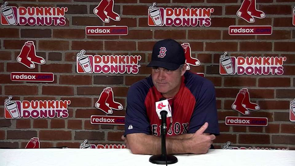 Farrell on team's offensive woes