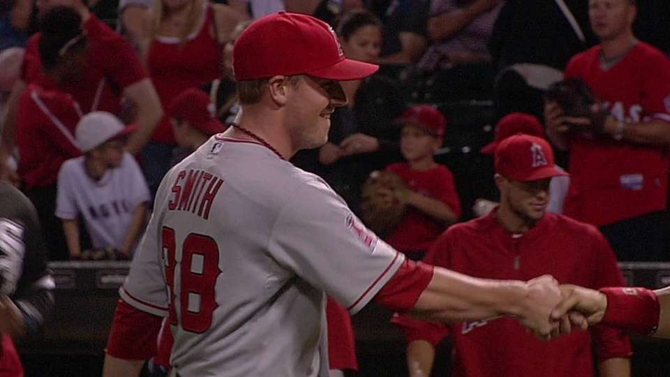 Smith's strikeout ends game