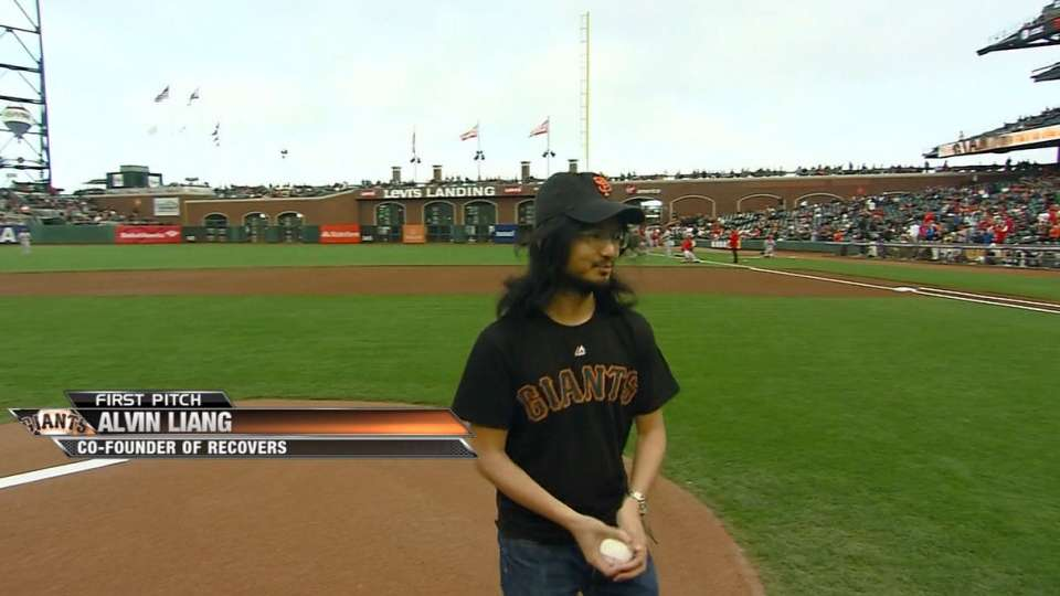 Alvin Liang's first pitch