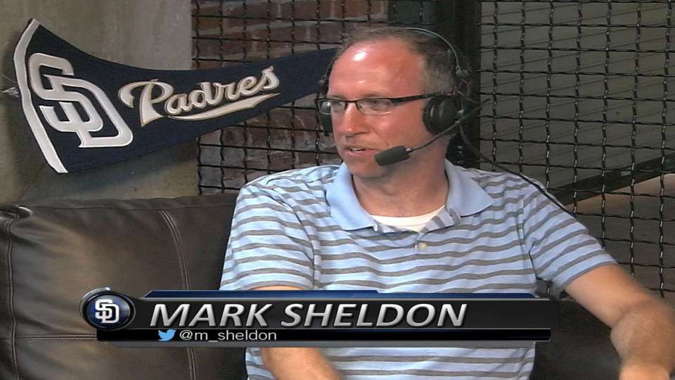 Sheldon on Padres Social Hour