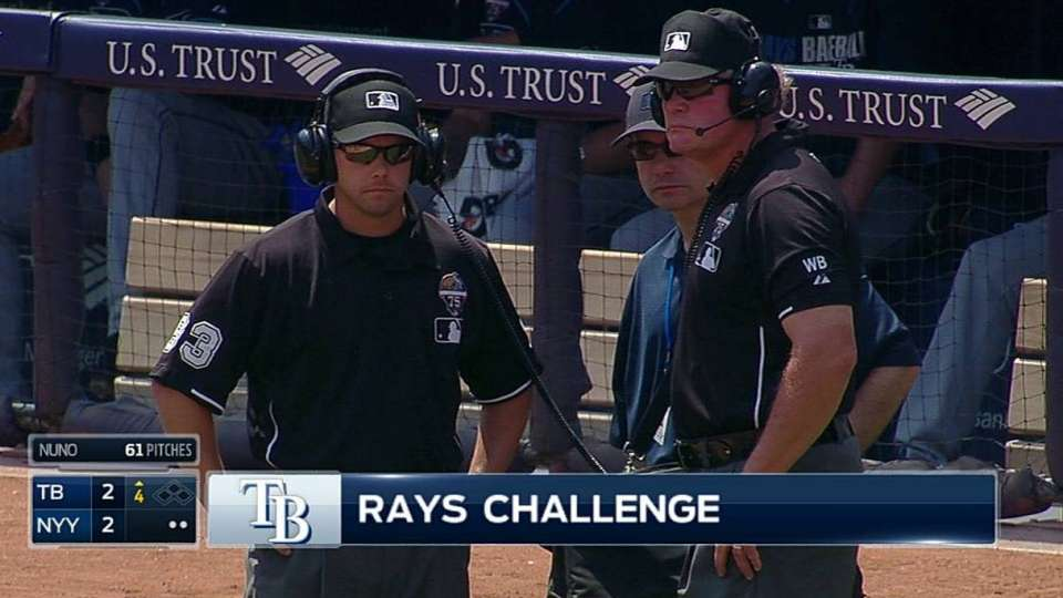 Challenge confirms out in 4th