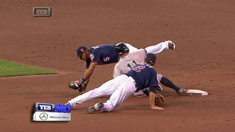 Jeter's RBI forceout