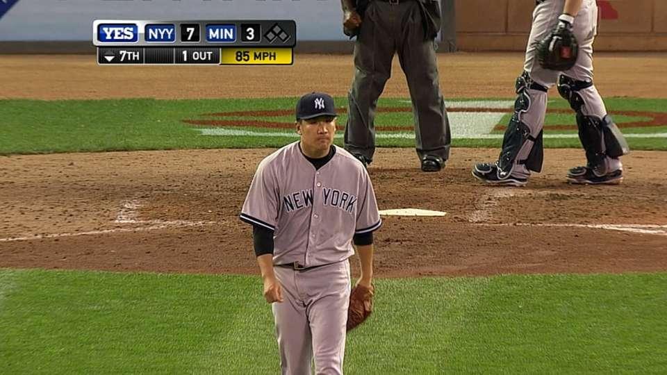 Tanaka gets win No. 12