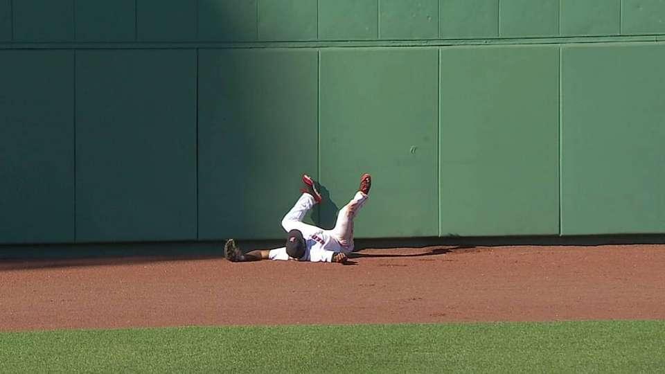 Bradley's outstanding catch