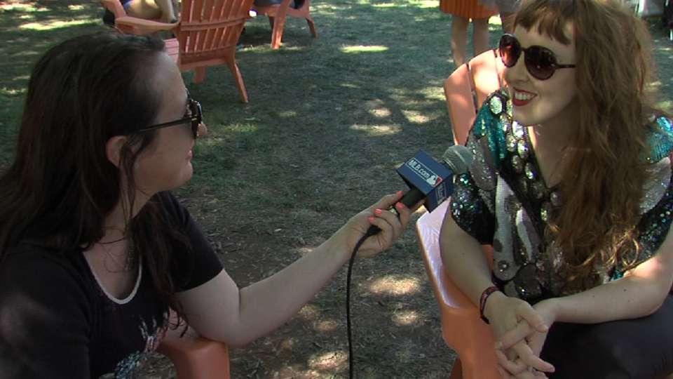 Brooke Waggoner at Lollapalooza