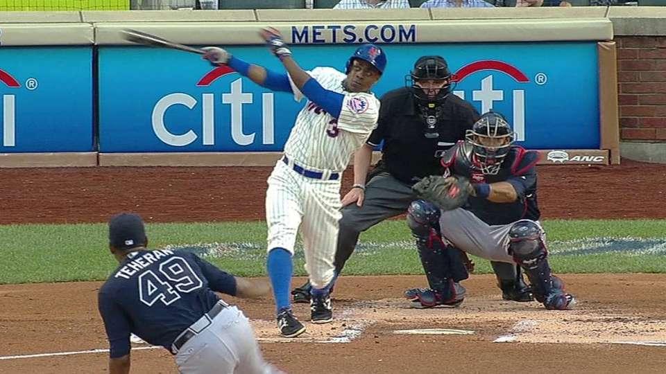 Granderson's leadoff homer