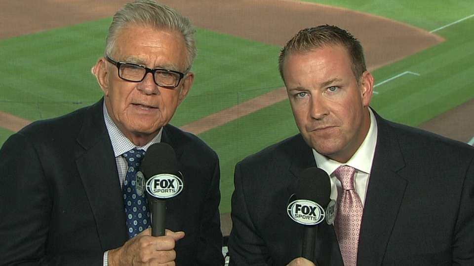 McCarver returns to TV booth