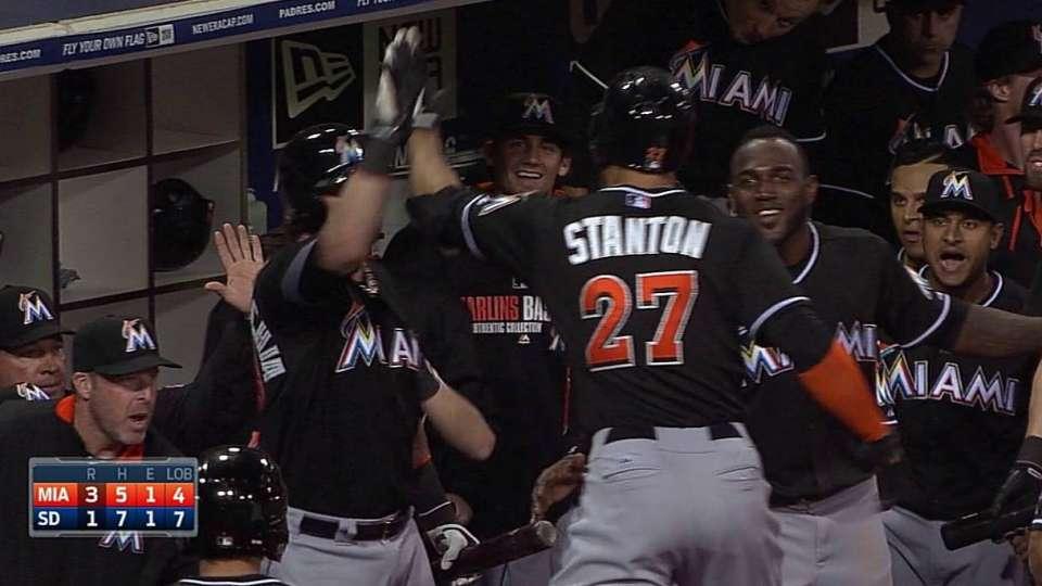 Stanton's two-run shot