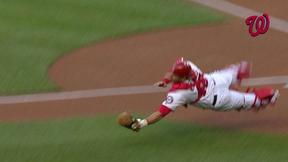 Ramos' outstanding catch