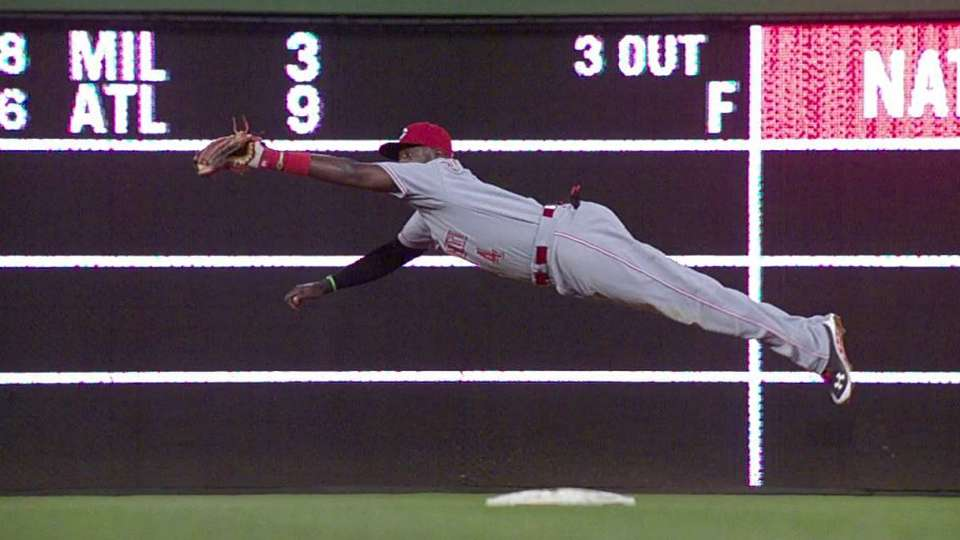 Phillips' outstanding catch