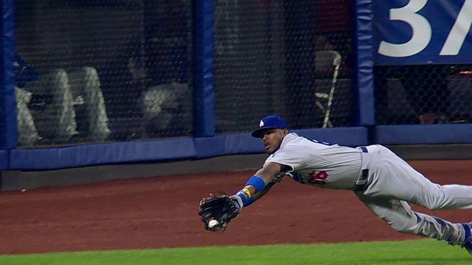 Puig's outstanding catch