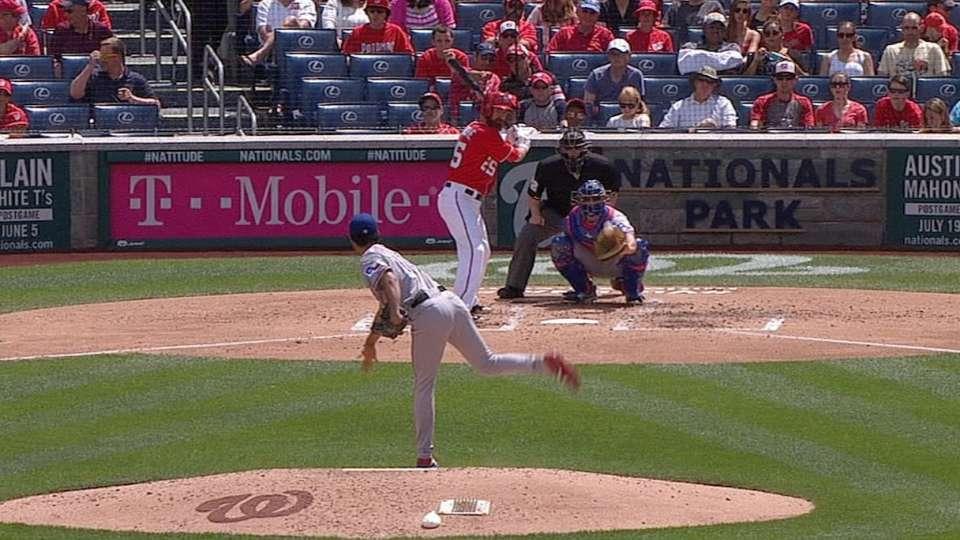 Darvish's 59-mph eephus pitch