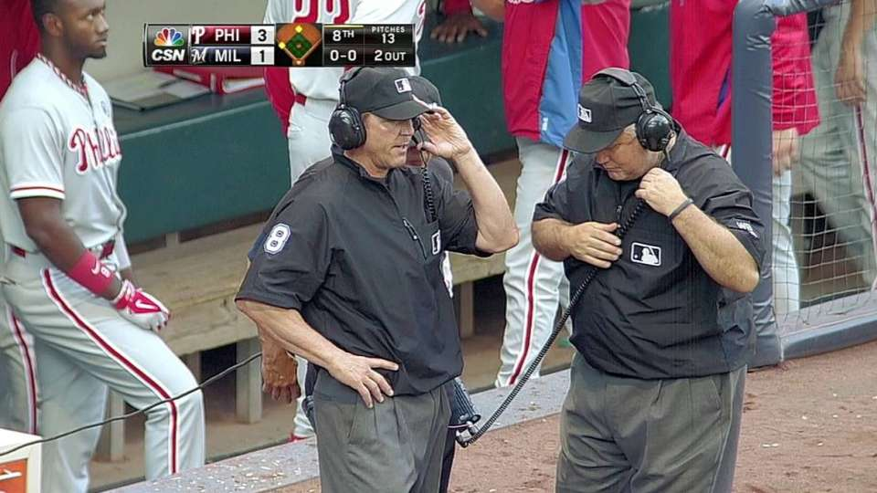 Challenge confirms call in 8th