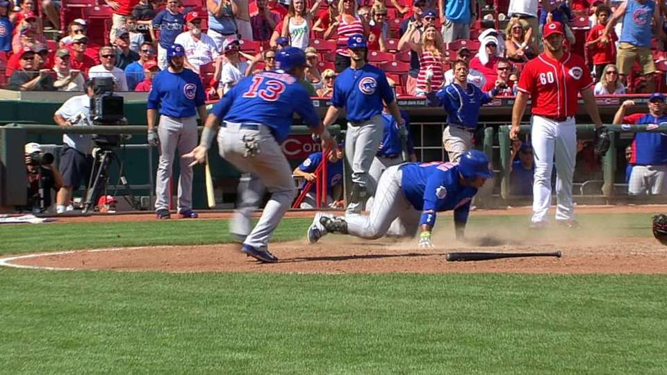 Valbuena's go-ahead hit reviewed