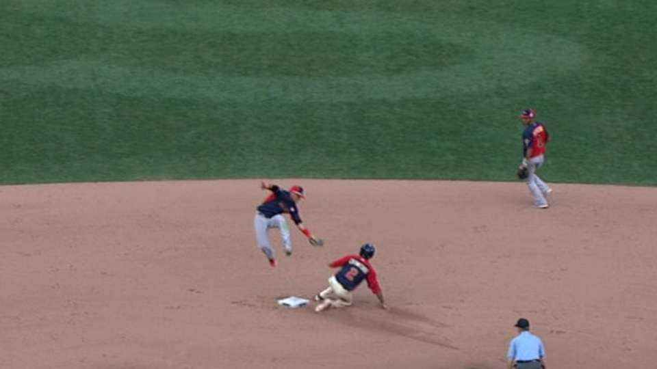 Crawford steals second