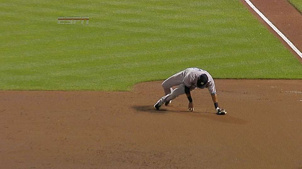 Solarte recovers for the out