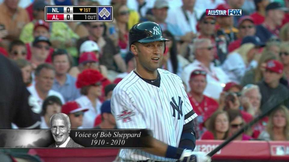 Jeter introduced by Sheppard