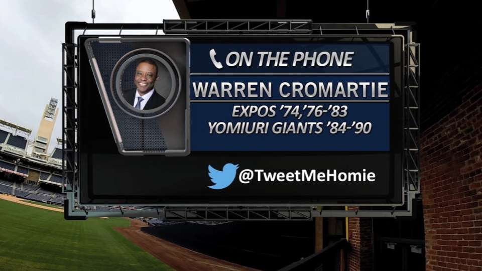Cromartie on Padres Social Hour