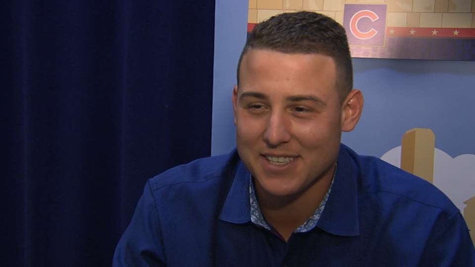 Rizzo on first All-Star Game