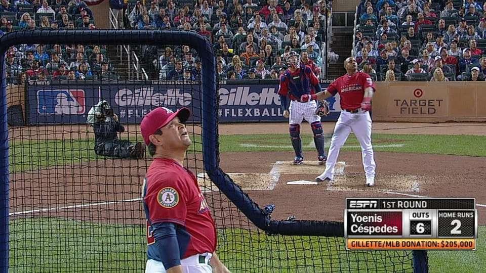 Cespedes' three homers