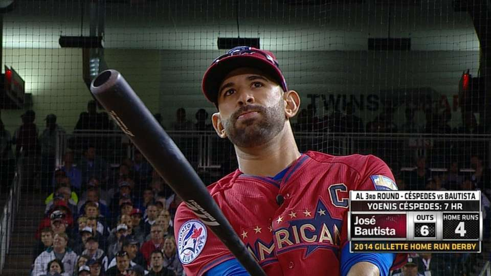 Bautista hits four in Round 3