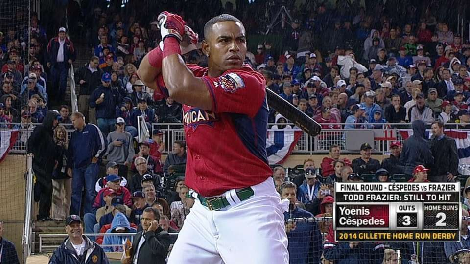 Cespedes hits nine in final