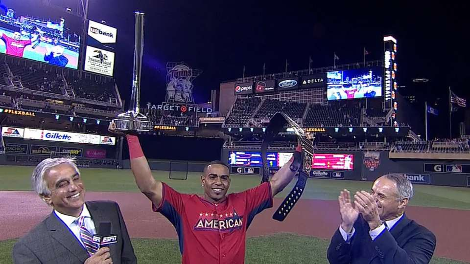 Cespedes collects Derby trophy