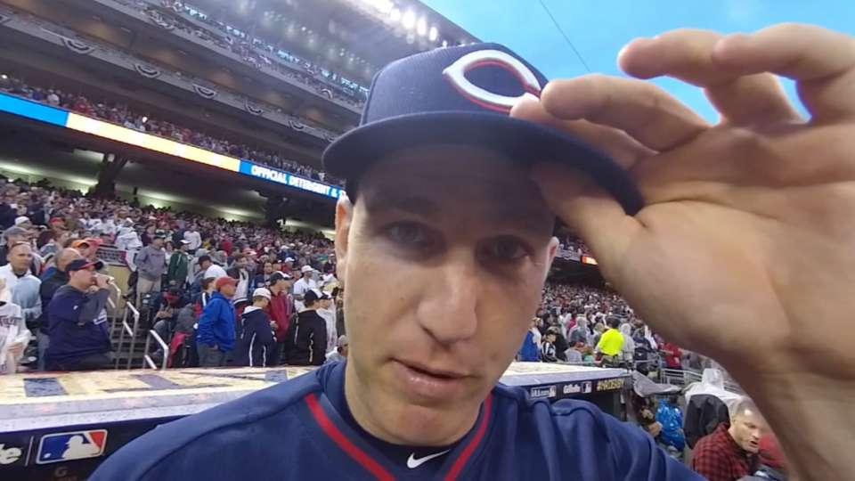 Frazier wields an iON Camera