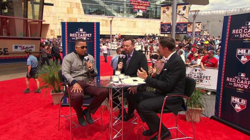 Miggy joins the Red Carpet Show